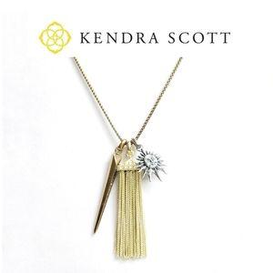 Kendra Scott mixed metal charm necklace